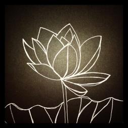 #107 Blessing - Lotus Flower