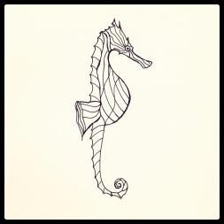#117 Seahorse