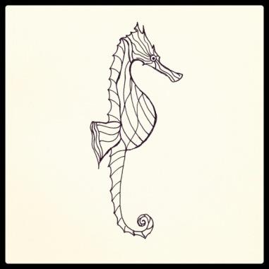 Seahorse #117