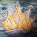Crown - Watercolor Pencils #8