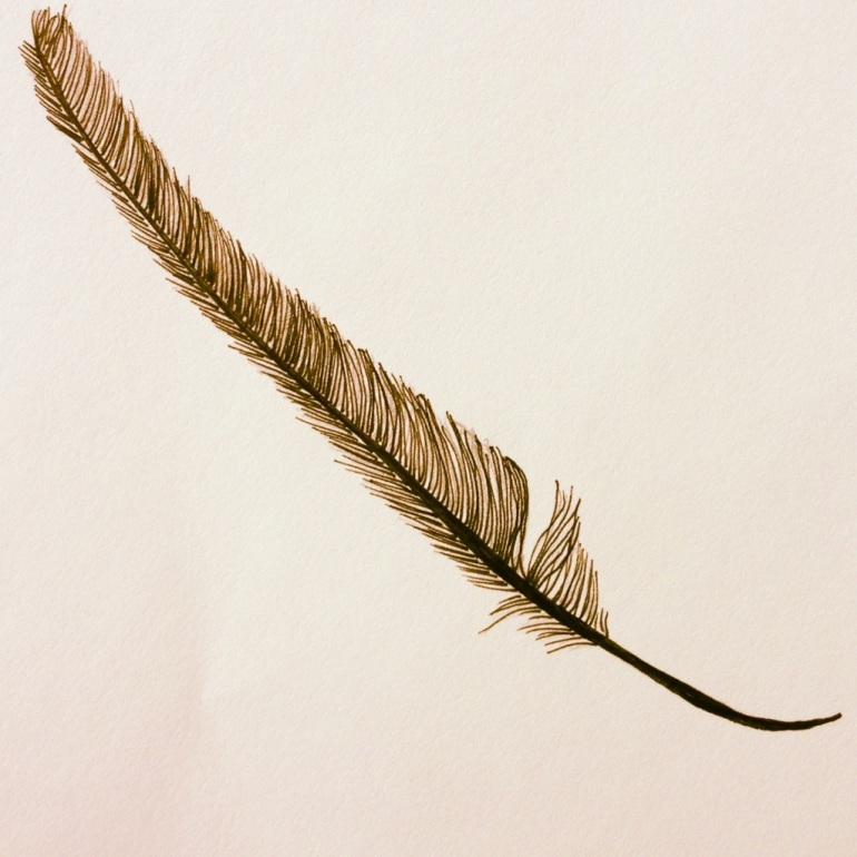 Feather – Pen & Ink #11 (Series 3)