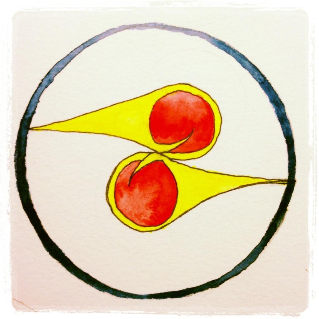 Hummingbird Symbol Watercolor And Pen 62 Series 3 125 Images